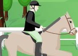 Cheval saut obstacle