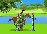 Chevaux jumping