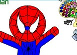 jeu spiderman coloriage