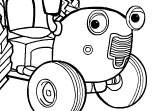 Coloriage Tracteur Tom