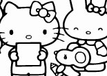 Coloriage Hello Kitty en Ligne