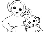 Coloriage Télétubbies