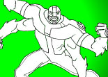 Coloriage Ben 10 Alien Hunter