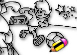 Coloriage Foot