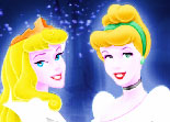 Coloriage 3 Princesses Disney
