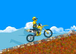 Gar�on Moto Cross