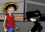 One Piece Luffy vs CP9