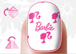 Barbie Doll'd Up Nails iPhone