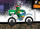 Tortues Ninja Moto Bike Challenge
