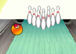 Bowling Angry Birds