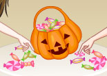 Habillage Bonbon Halloween