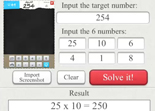 Solution 6 Numbers iPad