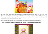 Solution Candy Crush Saga iPad