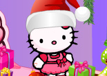 Hello Kitty Père Noël