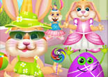 Easter Bunny Dress Up and Card Maker iPhone