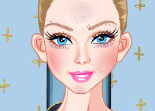 Barbie Blonde Maquillage
