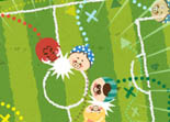 Four pigs soccer iPad