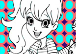 Coloriage de Polly Pocket