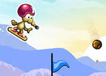 Rat On A Snowboard iPhone