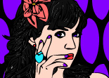 Katy Perry Coloriage