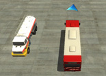 Parking Bus Aéroport Unity 3D