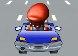 Voiture Mario on Road 2