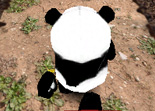 Panda Course dans la Jungle Unity 3D