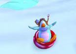 Pure Luge de Club Penguin iPad