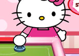 Hello Kitty Air Hockey