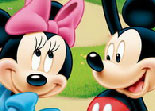 Mickey et Minnie Diff�rences