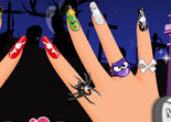 Ongles Effrayant Halloween