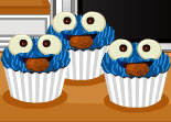 Cupcakes Cookie Monster