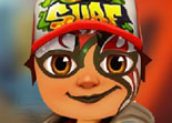 Subway Surfers Tatouage Visage
