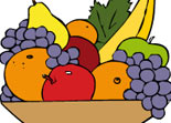 Livre de Coloriage Fruits