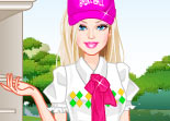 Barbie Habillage Golf