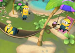 Les Minions Paradise iPhone