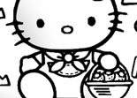 Hello Kitty Colorier