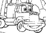 Coloriage Cars Gray Hauler
