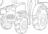 Coloriage Super Tracteur