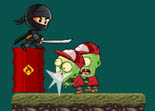Ninja Kid vs Zombies iPad