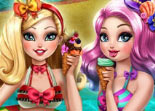Ever After High F�te � la Piscine