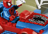 Lego Voiture de Spiderman Puzzle