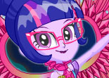 Legend of Evergreen Twilight Sparkle Habillage