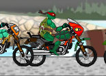 Course de Moto Tortues Ninja